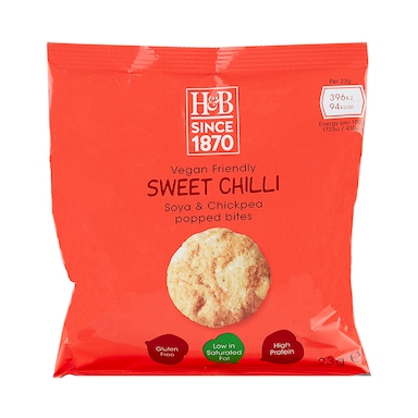 Holland & Barrett Sweet Chilli Soya & Chickpea Popped Bites 23g