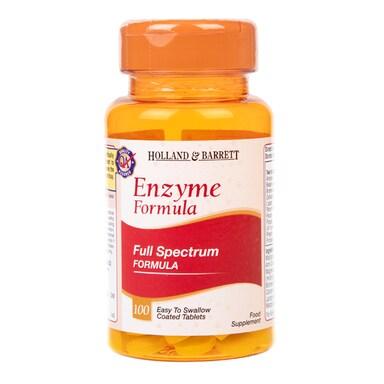 Holland & Barrett Enzyme Formula 100 Tablets