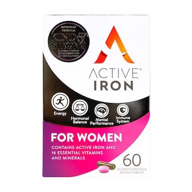 Active Iron for Women Capsules 60 Capsules