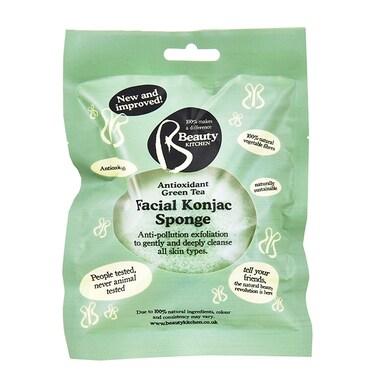 Beauty Kitchen Antioxidant Rich Green Tea Facial Konjac Sponge