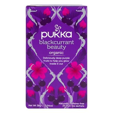 Pukka Organic Blackcurrant Beauty Fruit Tea 36g