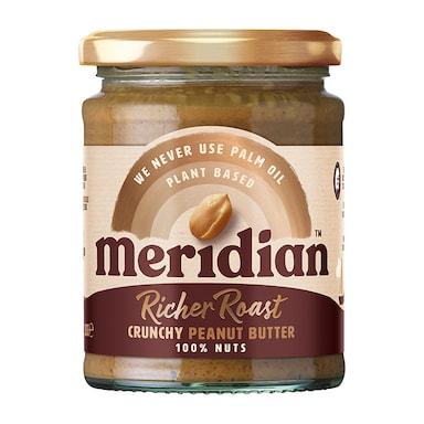 Meridian Deep Roast Crunchy Peanut Butter 280g