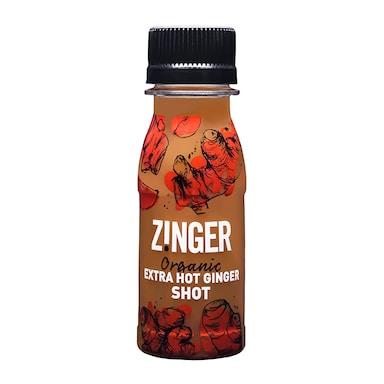 James White Drinks Organic Xtra Ginger Zinger Shot 70ml