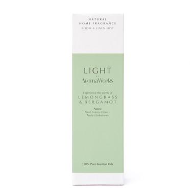 AromaWorks Lemongrass & Bergamot Room & Linen Mist