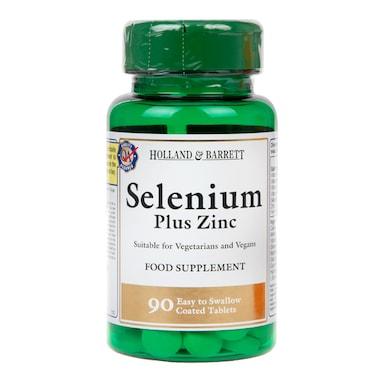 Holland & Barrett Selenium Plus Zinc 90 Tablets