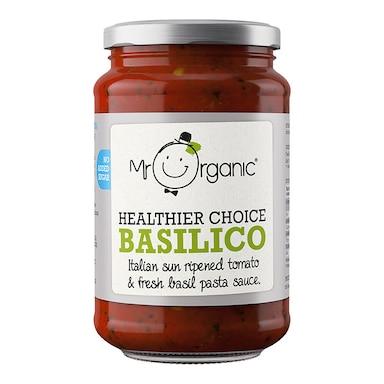Mr Organic Basilico Pasta Sauce 350g