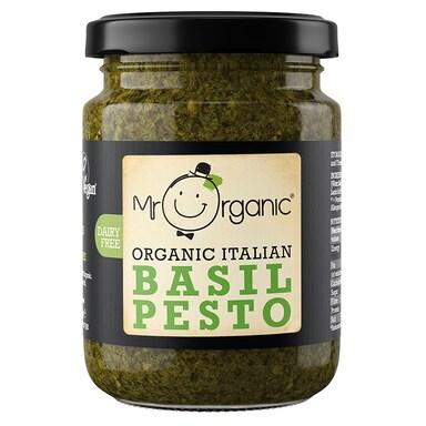 Mr Organic Italian Basil Pesto 130g