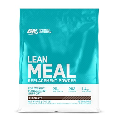Optimum Nutrition Lean Meal Replacement Powder Chocolate 918g