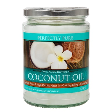 Perfectly Pure Extra Virgin Pure Coconut Oil 453g