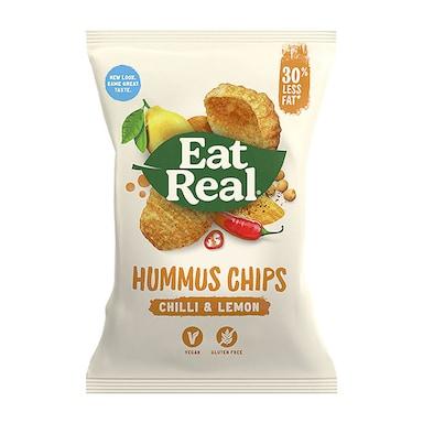 Eat Real Chilli & Lemon Hummus Chips 135g