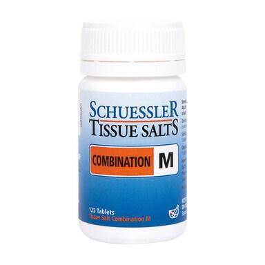 Schuessler Combination M Tissue Salts