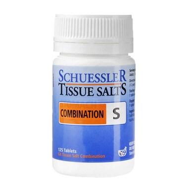 Schuessler Combination S Tissue Salts 125 Tablets