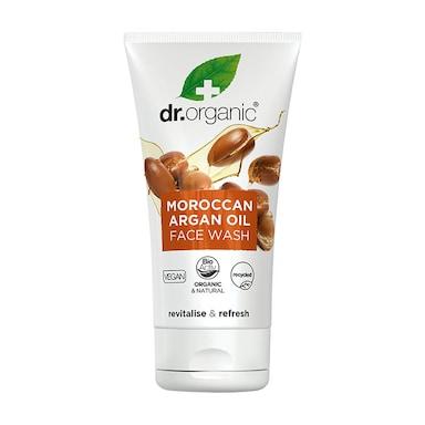 Dr Organic Moroccan Argan Oil Creamy Face Wash 150ml