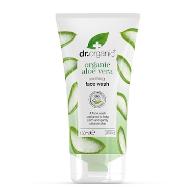 Dr Organic Aloe Vera Soothing Face Wash 150ml