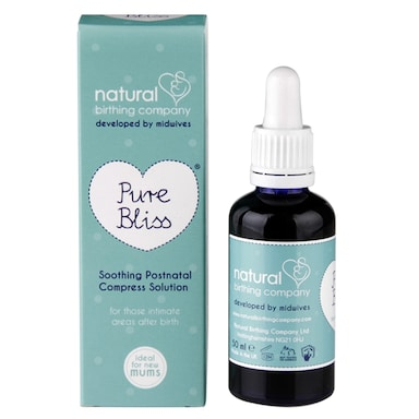 Natural Birthing Co Pure Bliss Soothing Postnatal Compress Solution 50ml