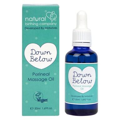 Natural Birthing Co Down Below Perineal Oil 50ml