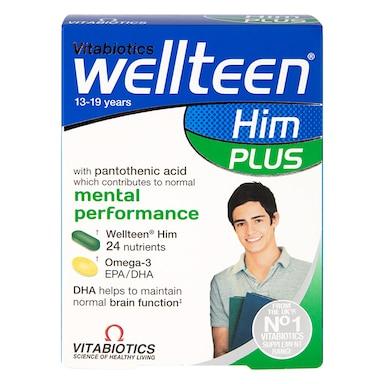 Vitabiotics Wellteen Him Plus 56 Tablets