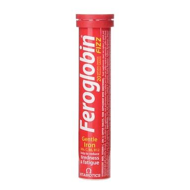 Vitabiotics Feroglobin Fizz 20 Tablets