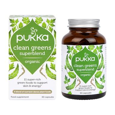 Pukka Clean Greens 60 Capsules