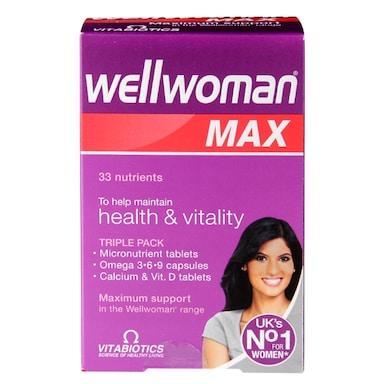 Vitabiotics Wellwoman Max 84 Tablets