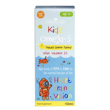 Nature's Aid Kidz Omega 3 Liquid 150ml