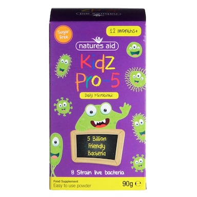 Nature's Aid Kidz Pro-5 Daily Microbiotic Powder 90g