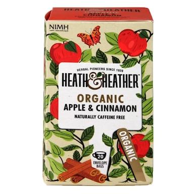 Heath & Heather Organic Apple & Cinnamon 20 Tea Bags