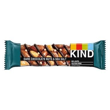 KIND Dark Chocolate Nuts & Sea Salt Bar 40g