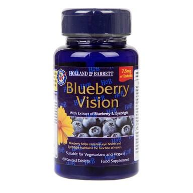 Holland & Barrett Blueberry Vision 60 Capsules