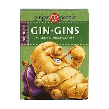 The Ginger People Gin Gins Original Chewy Ginger Candy 42g