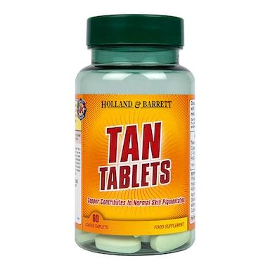 Holland & Barrett Tan Tablets 60 Caplets