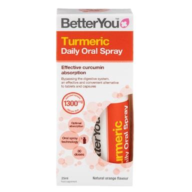 BetterYou Turmeric Daily Oral Spray (25ml)