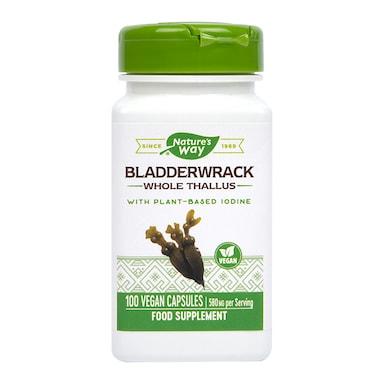 Nature's Way Bladderwrack with Iodine 100 Capsules