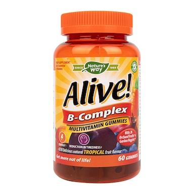 Nature's Way Alive! B Complex Multi Vitamins 60 Soft Jells