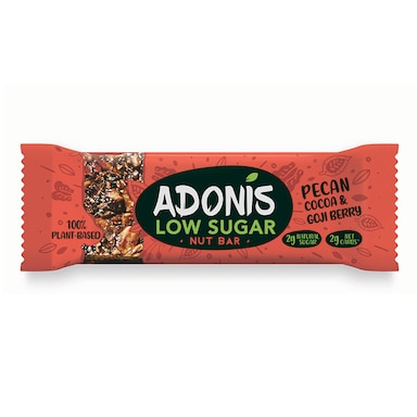 Adonis Pecan, Goji Berry and Cocoa Nut Bar 35g