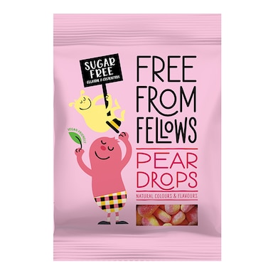 Free From Fellows Pear Drops 60g