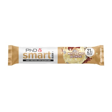 PhD Smart Bar White Chocolate Blondie 64g