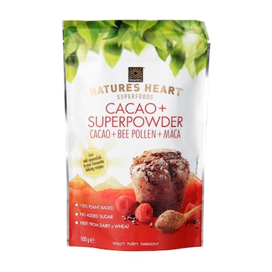 Nature's Heart Cacao Superpowder 100g