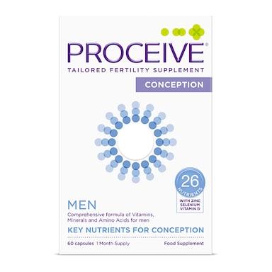 Proceive Men Advanced Fertility Supplement 60 Capsules