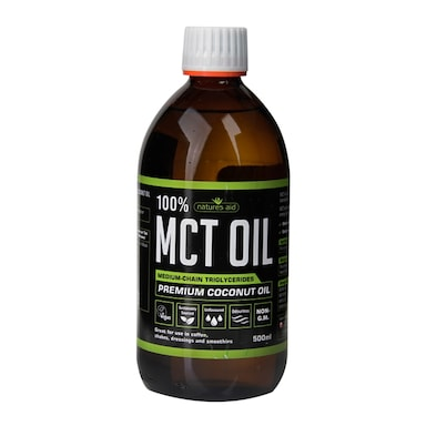 Nature's Aid 100% Pure MCT Oil 500ml