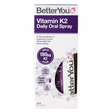 BetterYou Vitamin K2 Spray 25ml