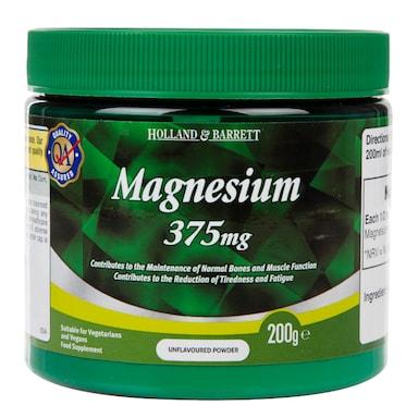 Holland & Barrett Magnesium Powder 200g