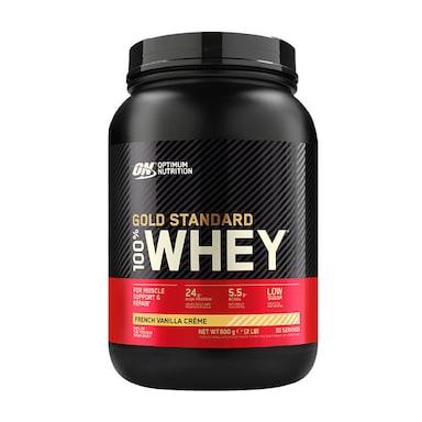 Optimum Nutrition Gold Standard 100% Whey Powder French Vanilla Crème 908g