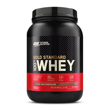 Optimum Nutrition Gold Standard 100% Whey Powder Extreme Milk Chocolate 908g