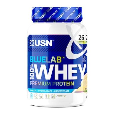 USN Blue Lab Whey Premium Protein Powder Vanilla 908g