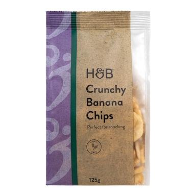 Holland & Barrett Crunchy Banana Chips 125g