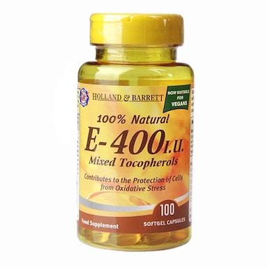 Holland & Barrett Vitamin E Complex 400iu 100 Softgel Capsules