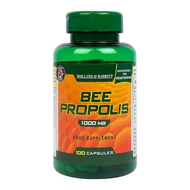 Holland & Barrett Bee Propolis 1000mg 100 Capsules