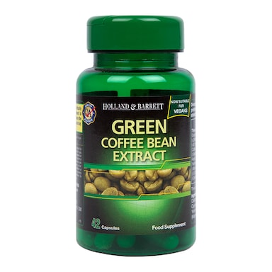 Holland & Barrett Green Coffee Bean Extract 42 Capsules