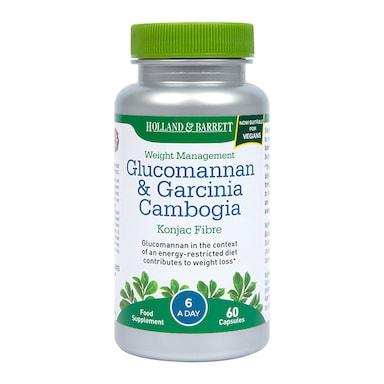 Holland & Barrett Glucomannan & Garcinia 60 Capsules